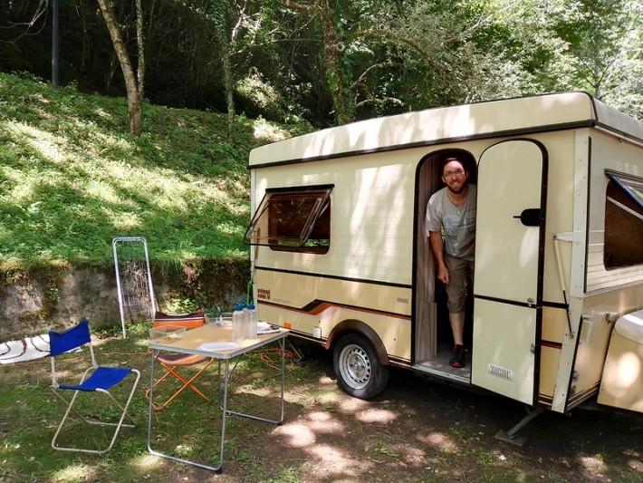 Au camping d'Uzerche